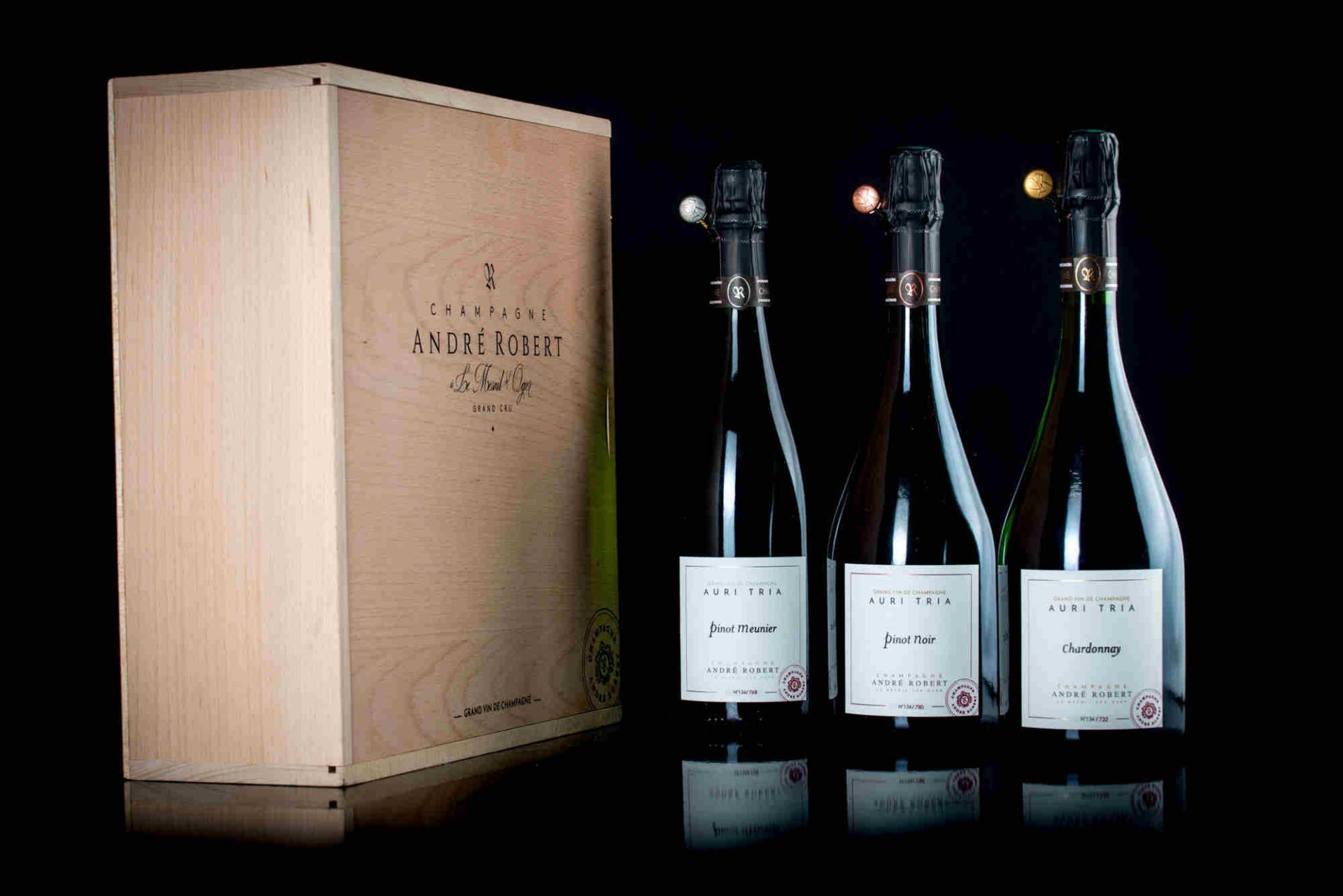 Image De Champagne le champagne andré robert | champagnes grands crus au mesnil sur oger